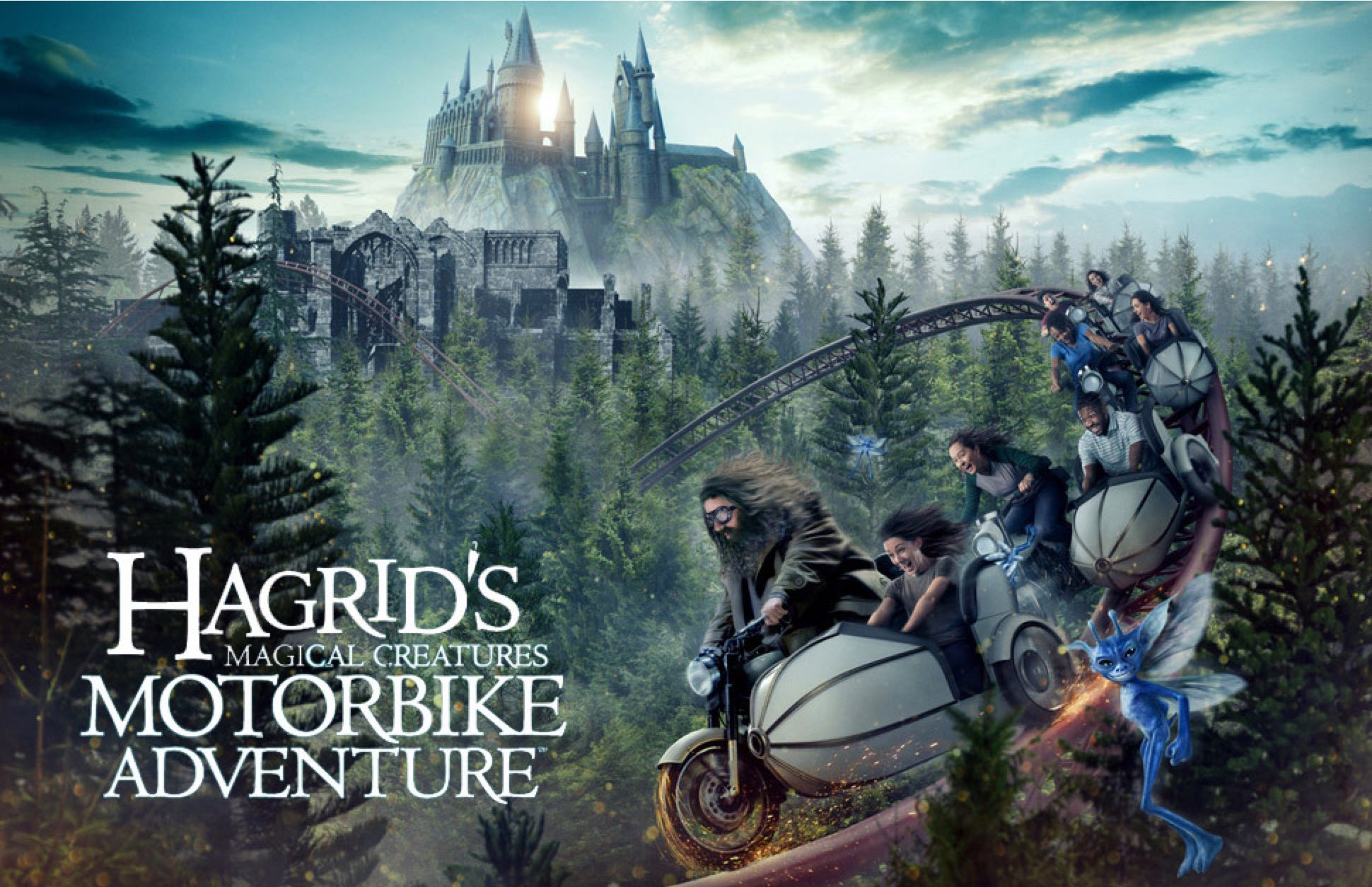 Hagrids Magical Creatures Motorbike Adventure 1