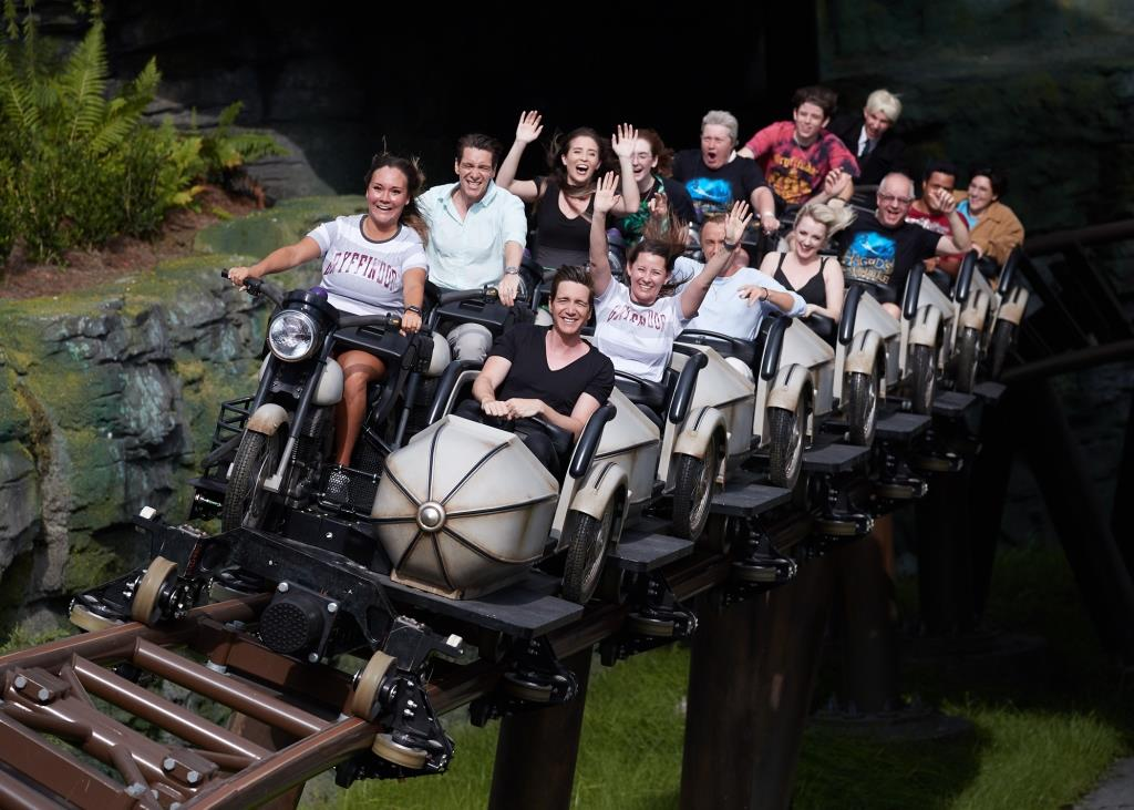 Harry Potter Talent Guests Ride Hagrids Magical Creatures Motorbike Adventure